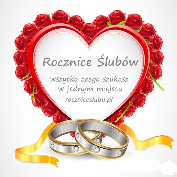 życzenia Na Rocznicę ślubu Najlepsze Roczniceslubupl